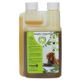 HempOne + Omega Oil Hond en Kat 250 ml