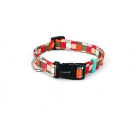 BZ Honden halsband nylon square 25x 48-70