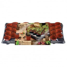 Grow-it Kweekset Tray 40 Potjes Ø6cm
