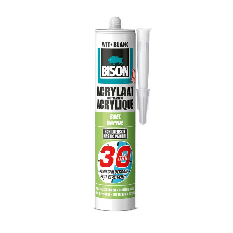 Acrylaatkit 30 Minuten 310 ml wit