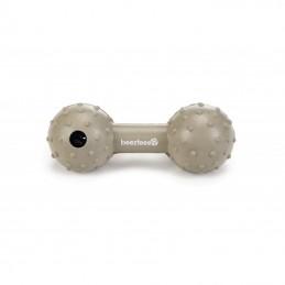 BZ rubber hondenhalter met bel 11,5 cm