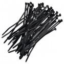 Kabelbinder zwart 2.5x200mm 100 stuks
