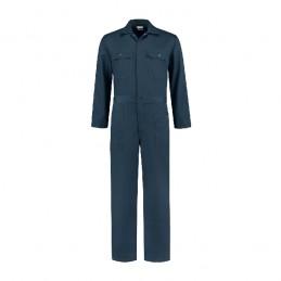 Kinderoverall polyester / katoen marine