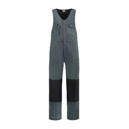 Bodybroek katoen/polyester grijs-zwart