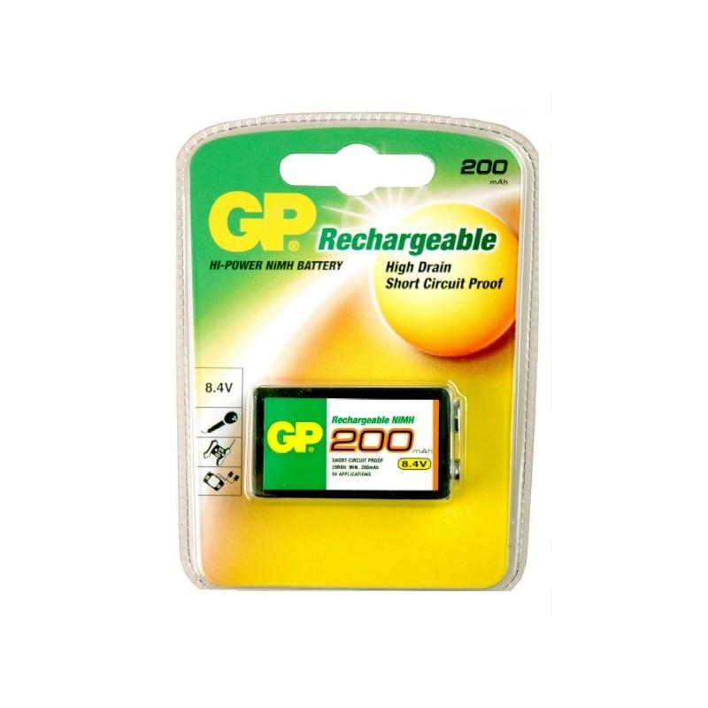 Batterij oplaadbaar GP block 8.4V LR61