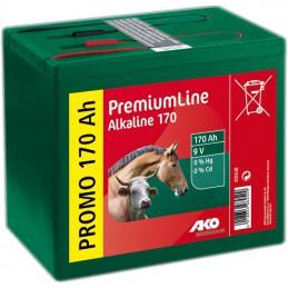 Alkaline batterij 9V 170 Ah
