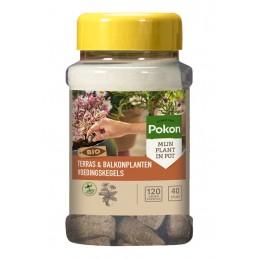 Terras & Balkon Planten Voedingskegels 40st