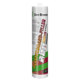 Zwaluw Plasterboard-Filler wit 310 ml