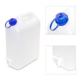 Jerrycan voor water met kraan 10 liter