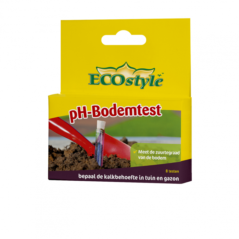 Ecostyle pH bodemtest 8 stuks