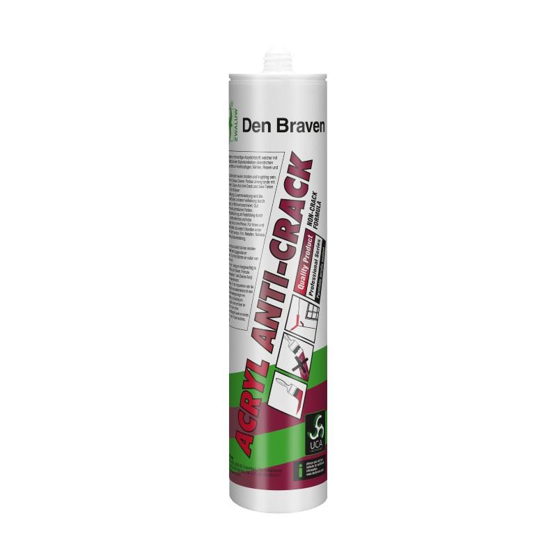 Acrylaatkit Anti-Crack Zwaluw wit