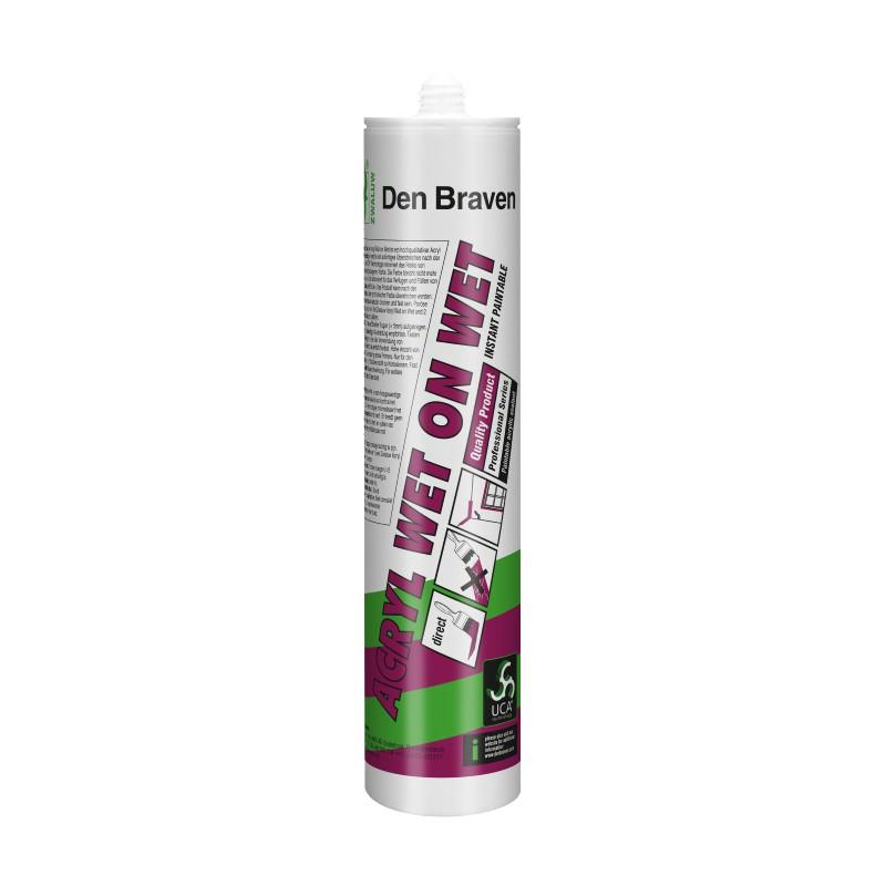 Acrylaatkit Wet On Wet Zwaluw wit 310 ml