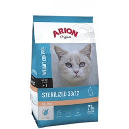Arion Kattenbrokken Original sterilized zalm 33/12 2 kg
