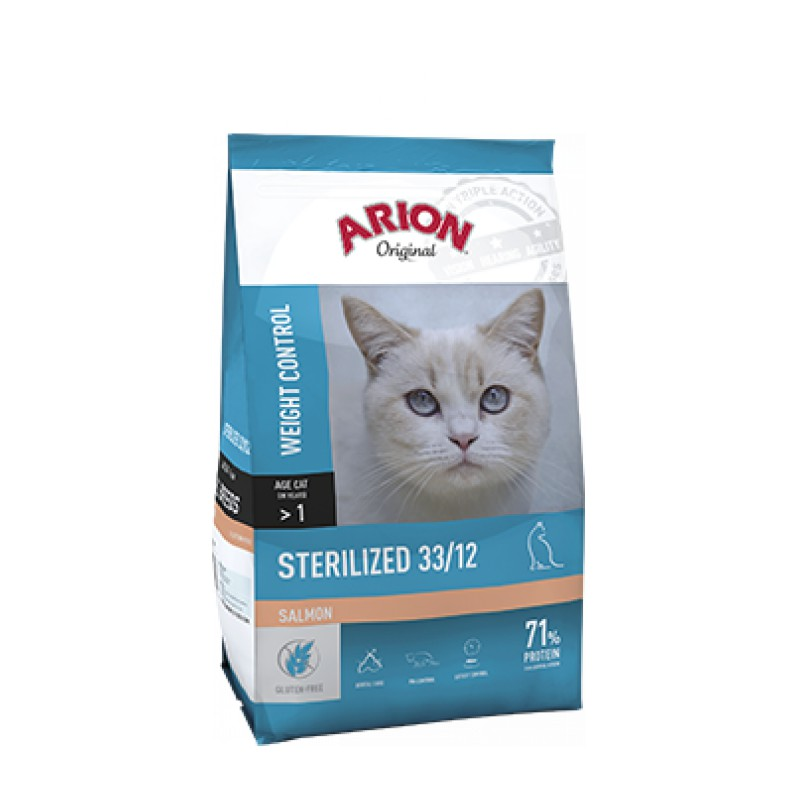 Arion Original kat sterilized zalm 33/12 2 kg