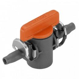 """Microdrip afsluitventiel 4,6mm (3/16"""") 2st"""