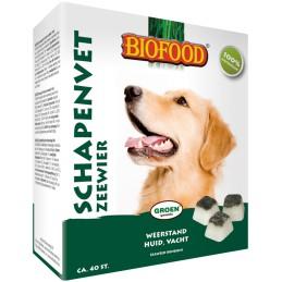 Biofood schapenvet bonbons zeewier 40 st