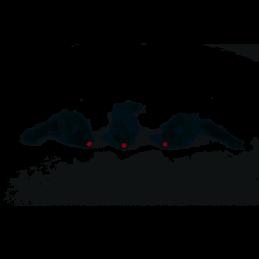 BZ Kattenspeeltje pluchen muisjes 3 stuks grijs