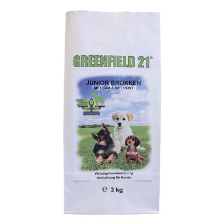 Greenfield 21 lam & rijst junior 3 kg