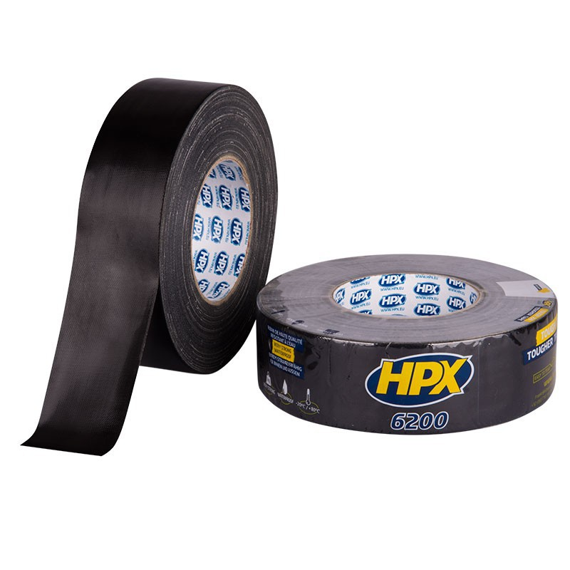 Duct tape zwart 48mm x 50m