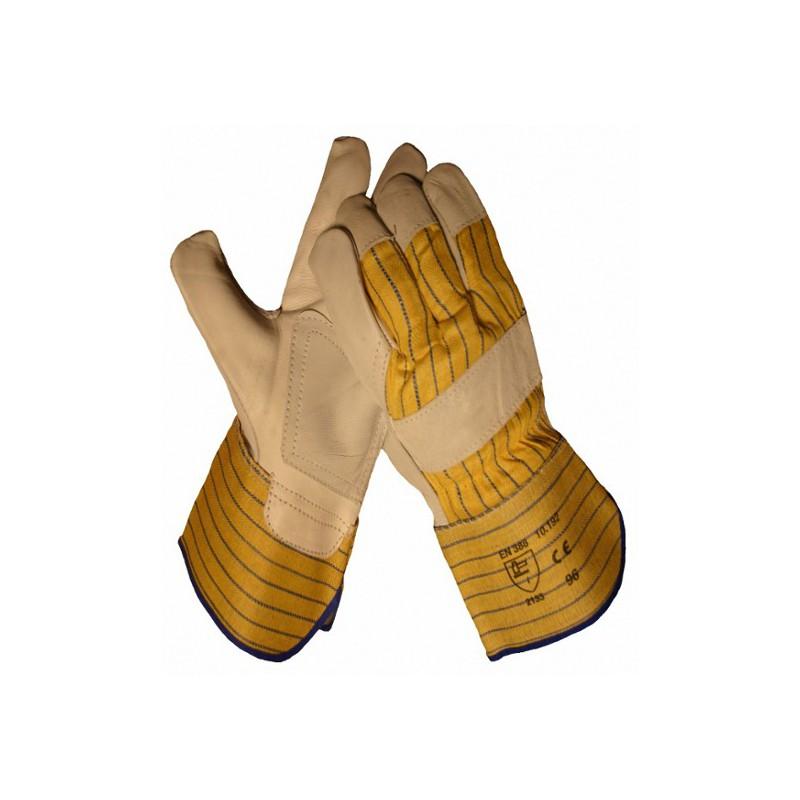 Handschoen Boxleder met palmversterking