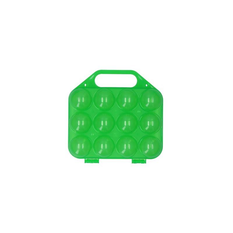 Eiertray kunststof groen