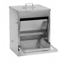 Pluimvee voerstation metaal 10 kg