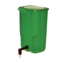 Drinknippelfles groen 1 liter