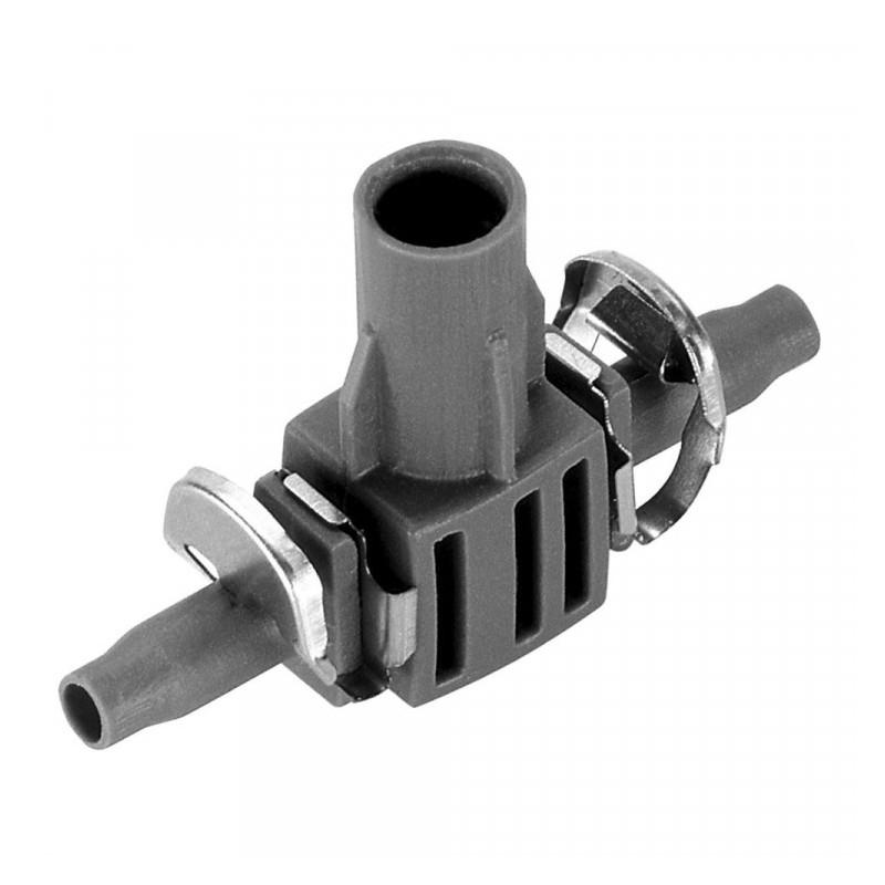 Micro Drip System T-stuk voor sproeiers 4.6 mm