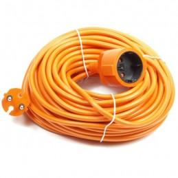 Verlengsnoer oranje 10 meter