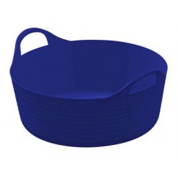 Flexibele mand blauw 15 liter
