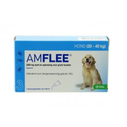 Amflee 268mg spot-on hond...