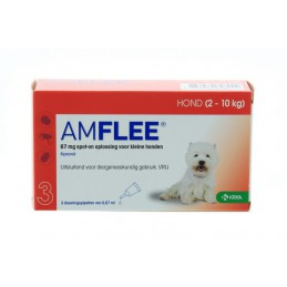 Amflee 67mg spot-on hond small