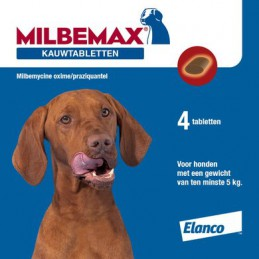 Kauwtablet ontworming hond...