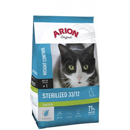 Arion Original kat sterilized kip 33/12 2kg