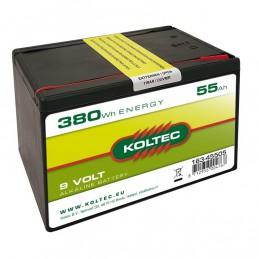 Batterij 9 Volt 380Wh 55Ah