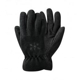 Basic fleece handschoen grijs
