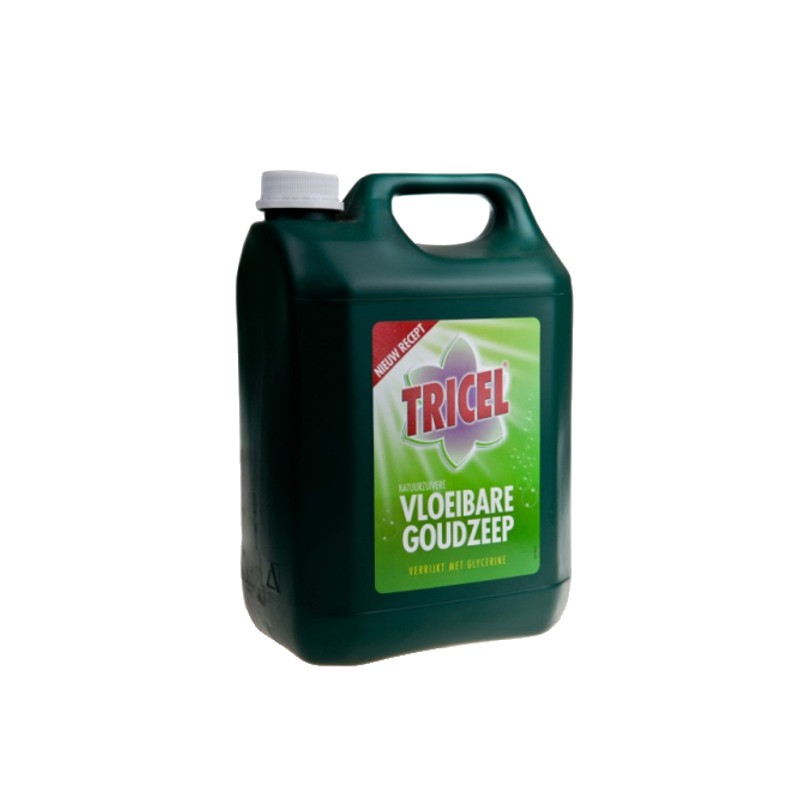 Tricel goudzeep Vloeibaar 5L.