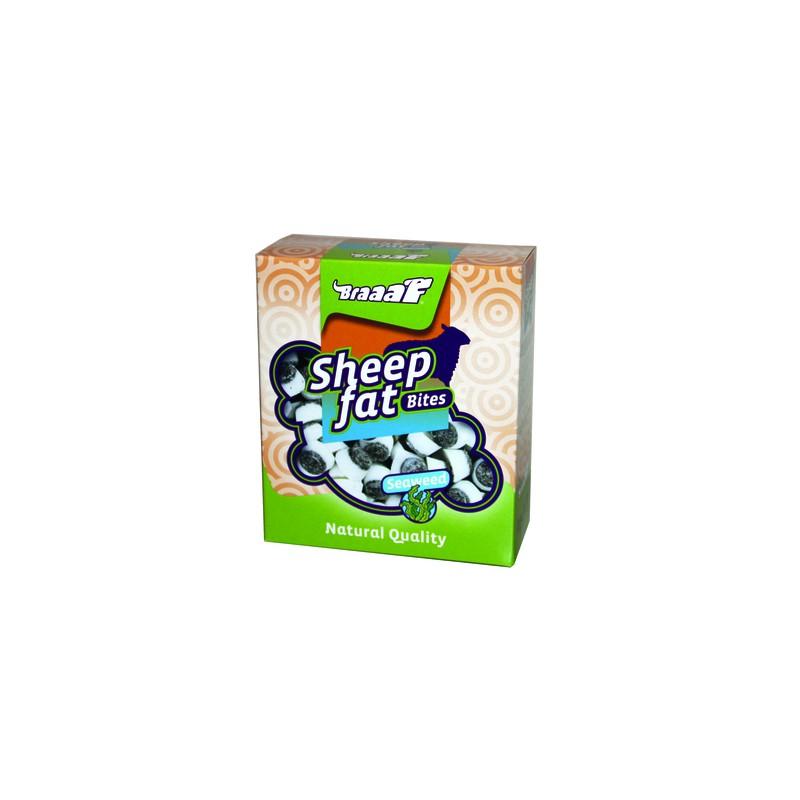 Braaaf Schapenvet bonbons met zeewier 245 gram
