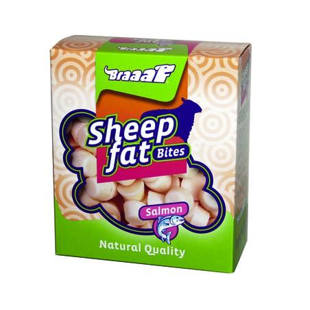 Braaaf Schapenvet Bonbons met Zalm 245 gram