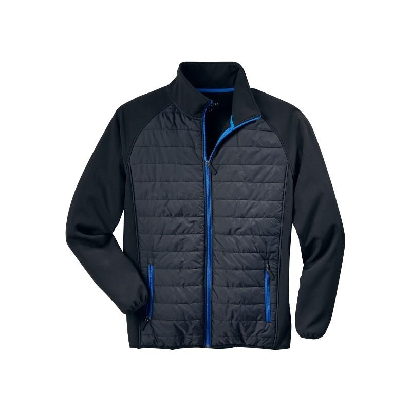 Softshell jas Active combi zwart