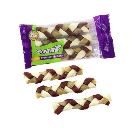 Braaaf Twister Braid 12 cm 3 stuks
