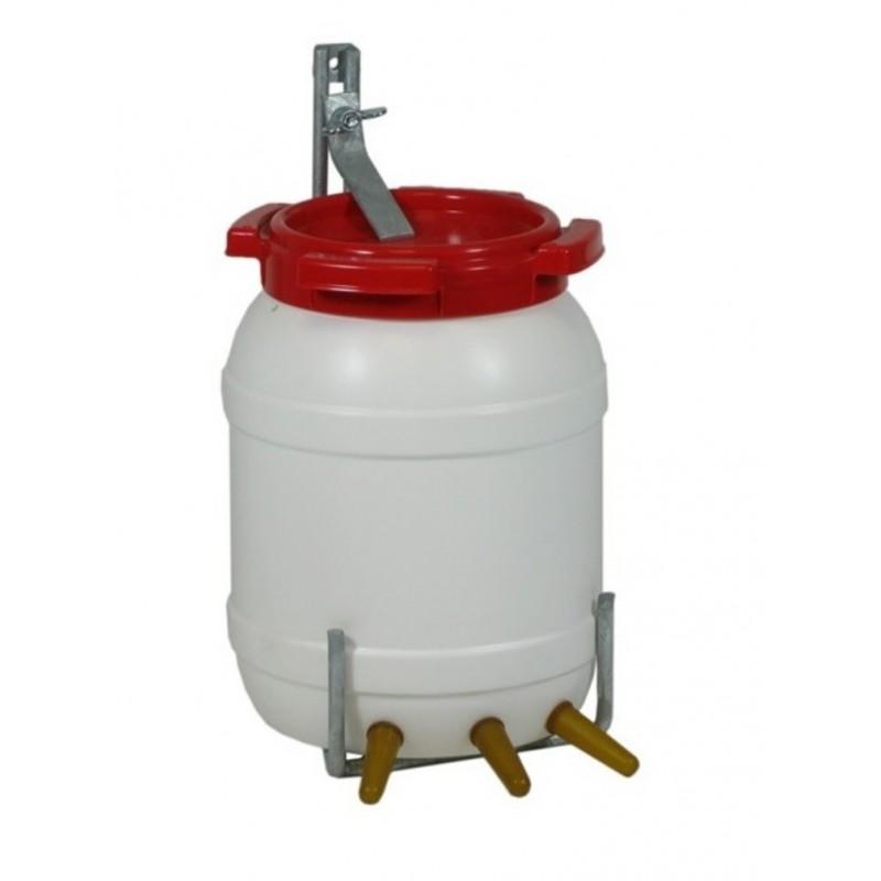 Lambar met deksel & beugel 6.5 liter 3 speens