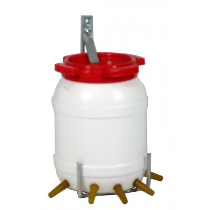 Lambar met deksel & beugel 6.5 liter 5 speens