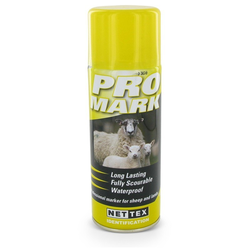 Merkspray ProMark schaap geel