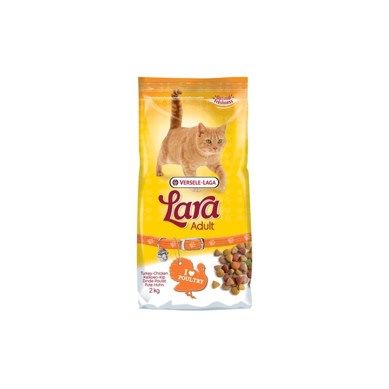 Lara Kattenbrokken kalkoen-kip 2 kg
