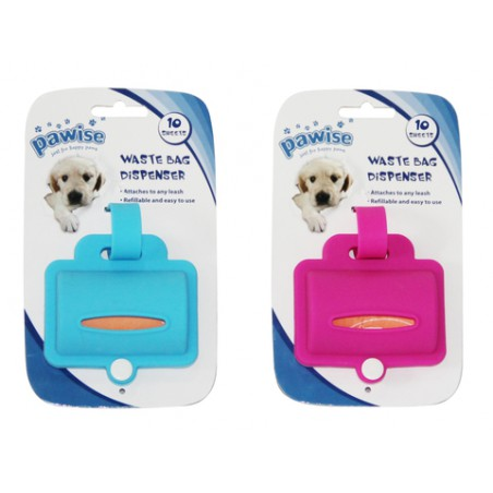 Waste Bag Dispenser Silicone (incl 20 bags)