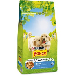 Bonzo puppy/junior brokjes 1½ kg.