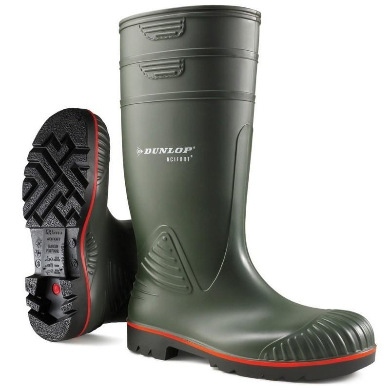 Dunlop Acifort Knielaars Heavy Duty full safety