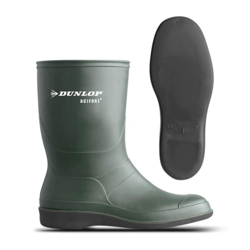 Dunlop Laars Biosecure met gladde zool