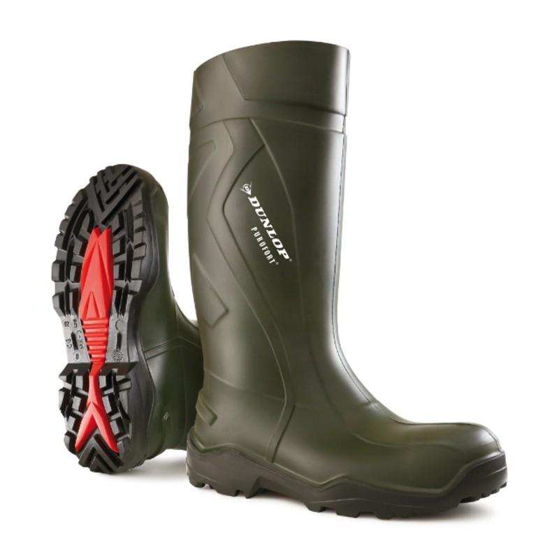 Dunlop Purofort+ full safety laars met stalen neus en stalen zool